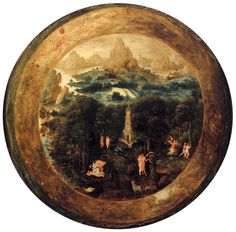 """mythologyofblue:  Herri met de Bles, The Paradise, 1541-1550 (via denisforkas)   """