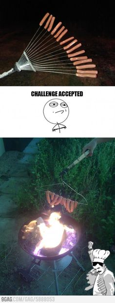 Barbecuing challenge
