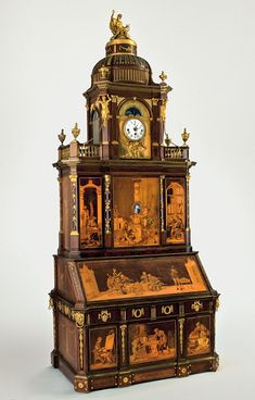 Furniture by Abraham and David Roentgen on loan from the Kunstgewerbemuseum, Staatliche Museen zu Berlin