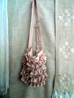 French Quarter Boho Jute Market Messenger Bag with by bayousalvage, $63.00