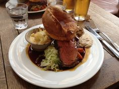 The Princess of Shoreditch. £16 for Sunday Roast with all the trimmings.