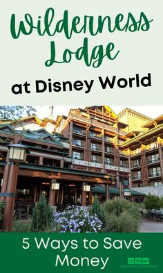 Your family will love Disney's Wilderness Lodge Resort. It's a fantastic hotel at Walt Disney World that's just a boat ride away from Magic Kingdom. Wilderness Lodge is a deluxe resort, which means it's one of the most expensive hotels. Luckily, we've got 5 travel hacks you can use to save money on your hotel stay. Advice for your next Orlando Florida trip so you'll have a fabulous Disney vacation #disneyworld #wildernesslodge #disneyresorts #disneydeluxeresorts #disneytips #disneytravel… Disney World Tickets, Walt Disney World Vacations, Disney Vacation Club, Vacation Deals, Orlando Resorts, Orlando Florida, Disney World With Toddlers, Disney Hotels, Disney World Planning
