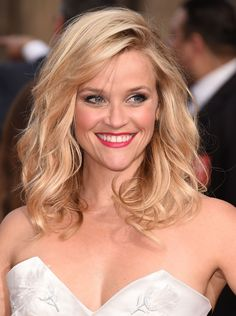 If you love lots of volume and texture in your hair, try a layered mid-length style like Reese Witherspoon often wears.  - GoodHousekeeping.com