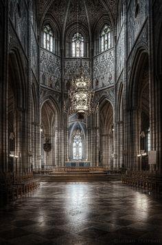 Uppsala cathedral, Sweden.