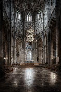 Uppsala cathedral, Sweden.