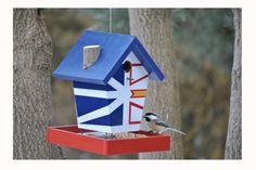 Buy A Birdhouse – Unique Birdhouse & Feeders Bird Suet, Bird Feeders, Newfoundland Flag, Wood Crafts, Diy Crafts, Bird House Kits, Bird Houses Diy, Popular Woodworking, Yard Art