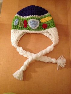 b8f99591fe2 The Space Ranger hat Inspired by Buzz of Toy Story crochet hat newborn to  adult sizes