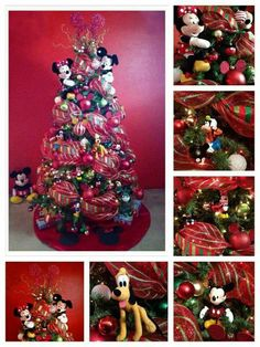tree mickey mouse christmas treedisney christmas decorationschristmas tree themeschristmas