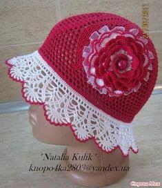 hat, free crochet pattern by rejojo