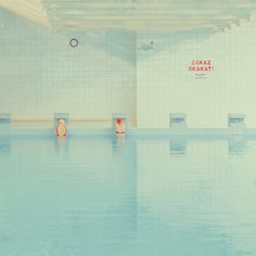 In swimming pool by Maria Svarbova