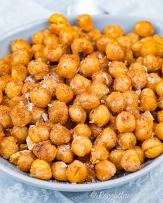 Roasted chickpeas - My Shop Easy Healthy Dinners, Healthy Breakfast Recipes, Raw Food Recipes, Healthy Snacks, Cooking Recipes, Vegetarian Recipes, Healthy Recipes, Lchf, Snacks Für Party