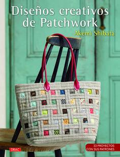 Este libro contiene 20 proyectos, con sus patrones, de bolsos, quilts, cuadros y otros accesorios de patchwork, con aplicaciones y bordados de formas muy elaboradas.  http://www.editorialeldrac.com/tienda-online-libros/labores/disenos-creativos-de-patchwork/
