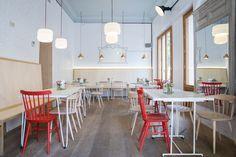 La panadería y cafetería Pancomido en Madrid - AD España, © Lucía Jiménez www.revistaad.es