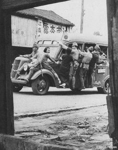 Japanese soldiers in Guangdong, China 1938