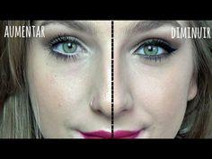 maquiagem para diminuir olhos grandes - Pesquisa Google