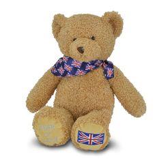 Union Jack teddy bear - Historic Royal Palaces online gift shop