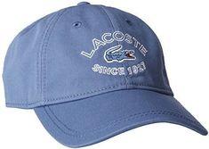 94901acff53f8 New Lacoste Unisex Light Blue Hat Cap New Lacoste Unisex Hat Color  Light  Blue Size  Adjustable Lacoste Accessories Hats