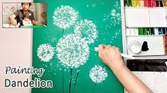 watercolor Dandelion - YouTube