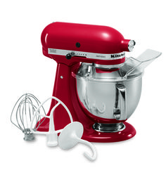 KitchenAid® Artisan® Series 5-Quart Tilt-Head Stand Mixer (KSM150PSER Empire Red) | $349 @ KitchenAid.com