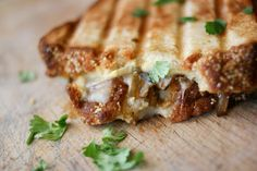 Grilled Beer and Cheese Sandwiches--perfect for the beer bread from Tastefully Simple