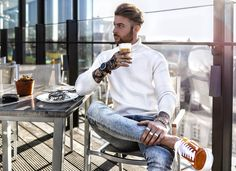 "7,001 Likes, 127 Comments - Tobias (@tobilikee) on Instagram: ""Time for a break ☕️ Enjoying the great view and the last sun with my new smartwatch @fossil in…"""