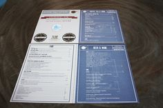 Art of the Menu: Sparkroot Graphic Design Layouts, Layout Design, Restaurant Menu Design, Tips, Ideas, Page Layout, Thoughts