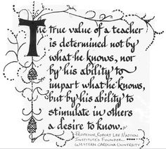 teaching quotes | Ken Brookers Teacher's Quotes Board: teacher's quotes | Glogster EDU ...