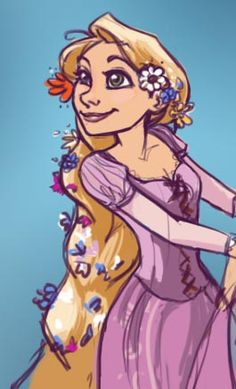 Rapunzel - Dolled Up by Flameprincess88 on deviantART