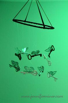 Harry Potter Party - Flying Keys Tutorial