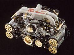 Alfa Romeo l boxer Alfa Romeo V6, Alfa Romeo Logo, Alfa Romeo Spider, Motor Engine, Car Engine, Alfa Bertone, Alpha Romeo, Vw Conversions, Performance Engines