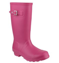 Get your kids festival ready with these Fuchsia Cotswold Welly Boots!