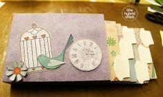 Envelope Keepsake Album  #thedigichick