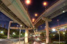 Tatsumi Junction  辰巳ジャンクション。 by Hiroki Ito
