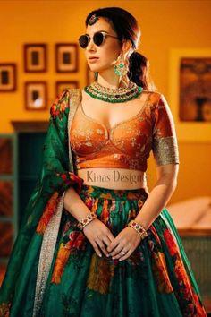 --->Kinas Designer is your one-stop shop for all types of Bridal Wear Collection. --->For more information contact us (Call/Whatsapp): +91 78028 85280 #lehenga #bridallehenga #weddinglenega #designerlehenga #lehengacholi #indianwedding #indianfashion #indianbride #weddingdress #bridalwear #bridal #indianwear#anarkalilehenga #bride #instafashion #style #traditionallehenga#india #sabyasanchi #manishmalhotra #handworklehenga Bollywood Lehenga, Lengha Choli, Silk Lehenga, Sari, Party Wear Skirt Top, Mirror Work Lehenga, Dulhan Dress, Orange Lehenga, Indian Wedding Lehenga