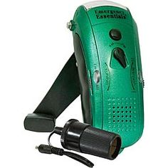 Wavelength Emergency Radio, Charger & Flashlight