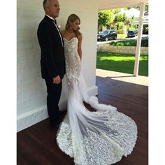 Off the Shoulder Short Sleeves Court Train Mermaid Wedding Dress with Appliques Lace Amazing Wedding Dress, Long Wedding Dresses, Wedding Gowns, Pallas Couture, Strictly Weddings, Sophisticated Bride, Couture Fashion, Bridal Style, Bridal Gowns