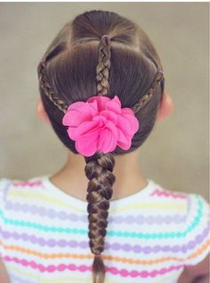 Peinados escolares Toddler Craft Ideas - Fun Ideas to Have a Blast With Your Baby! Girls Hairdos, Lil Girl Hairstyles, Princess Hairstyles, Pretty Hairstyles, Braided Hairstyles, Toddler Hairstyles, Natural Hairstyles, Hairstyle Ideas, Toddler Hair Dos