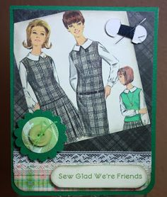 For The Joy of Creating: Sewing Theme Cards