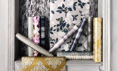 Buy online Lietti Wallcovering Wallpaper by Romo Black Edition at competitive prices. TM Interiors Limited Peterborough, Cambridgeshire and London.