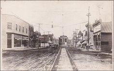 RP; Main Street, Street Car, Seymour, Wisconsin, PU-1921 Item# SCVIEW362741 (256215807)