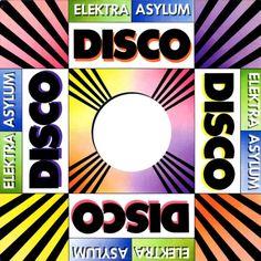 """Electra / Asylum Records' 1970s Disco 12"""" single record sleeve."""