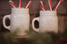 Fun hot chocolate mugs.
