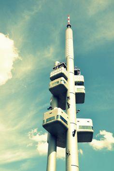 Žižkov TV Tower In Prague