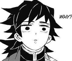 nv: Thủy Trụ (Guyuu), manga: Kimetsu no Yaiba Manga Anime, Anime Demon, Manga Art, Anime Art, Slayer Meme, Demon Slayer, Meme Faces, Funny Faces, Anime Meme Face