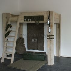 kinderkamer leger bed