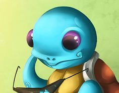 """Check out new work on my @Behance portfolio: """"#007 Squirtle"""" http://be.net/gallery/50983167/007-Squirtle"""