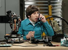 The Big Bang Theory Simon Helberg as Howard Wolowitz Talking on Telephone 8 x 10 Inch Photo Big Bang Theory, The Big Band Theory, Gustavo Fring, Miranda Bailey, Grant Gustin, Carl Grimes, Chicago Fire, Millie Bobby Brown, Breaking Bad