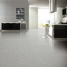 Crown Tiles | 60x60cm Super Polished Light Grey Porcelain - Crown Tiles
