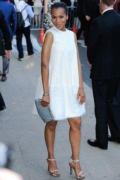 Kerry Washington in Calvin Klein