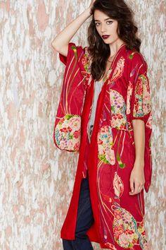 Aimi Kimono - Jackets + Coats